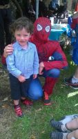 oisin and spiderman