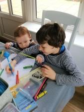 Cilly teaching Fionn.jpg